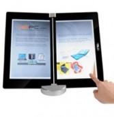 אסוס הציגה אבטיפוס של מחשב נייד בעל מסך כפול