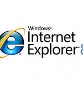 """דו""""ח: מספר ימים לאחר ההשקה, וכבר נרשמה ירידה בנתח השוק של אינטרנט אקספלורר 8"""
