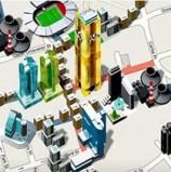 חברת הצעצועים הסברו תשיק גרסת מונופול אינטרנטית, שלוח המשחק שלה מבוסס על Google Maps