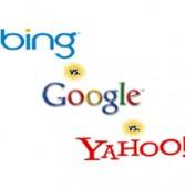 שוק מנועי החיפוש: בינג וגוגל ממשיכים לעלות, יאהו! מידרדרת