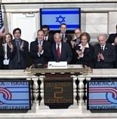 בכירים ישראלים ואמריקניים פתחו אתמול את המסחר בבורסת בניו-יורק