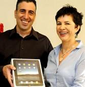 הזוכה השני בהגרלת ה-iPad של אנשים ומחשבים: זיו עומר מאורקל