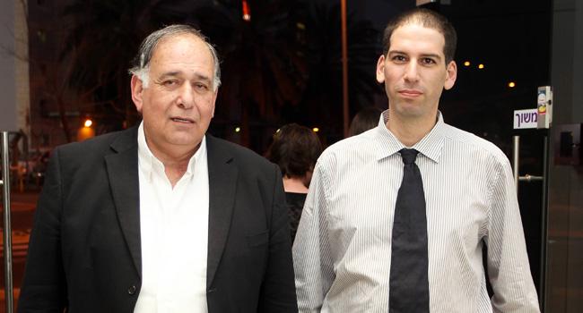 """מימין: יריב ענבר - מנכ""""ל מכללת מדיאטק היי-טק, יונה יהב - ראש עיריית חיפה"""
