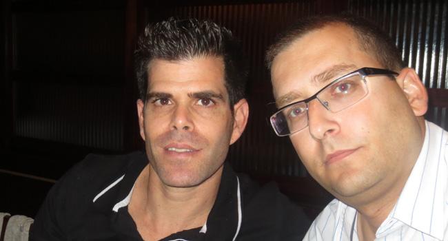 אורי בן משה (מימין), שותף מנהל בהדרכה ישירה, וליאור חרזי - יועץ בכיר לתחום מיקרוסופט באבנט, מפיץ מורשה של מיקרוסופט ישראל