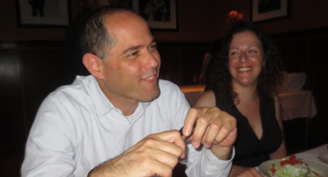 יריב שפירא, מנהל שיתופי פעולה אזורי ב-HP, לצד אילנית ניצן, מנהלת שותפים בכירים במיקרוסופט ישראל