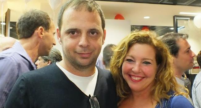 """נצפים אורחים שמחים. מימין: מירי ברגר, יבמ, מנהלת קשרים עם בתי תוכנה ומפתחים; וטל חן, דלויט, רו""""ח מנהל שותף וראש מגזר ההיי-טק"""