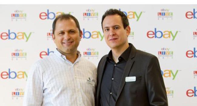 אלעד גולדנברג, מנהל פעילות עסקית באי-ביי ישראל; אפי דהן, מנהל אזורי PayPal בישראל ואפריקה