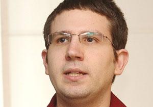 """מני רוזנפלד, יו""""ר איגוד הביטקוין הישראלי. צילום: קובי קנטור"""