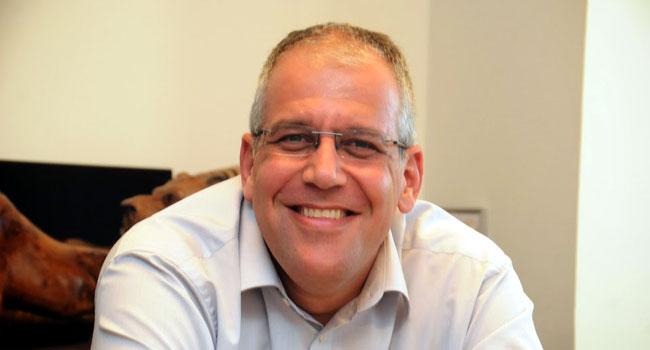 """""""אנחנו גדלים על חשבון נט-אפ"""". דני נויברגר, מנכ""""ל EMC ישראל. צילום: פלי הנמר"""