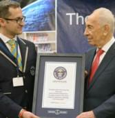 הנשיא קבע שיא: פרס העביר את שיעור האזרחות המקוון הגדול בעולם