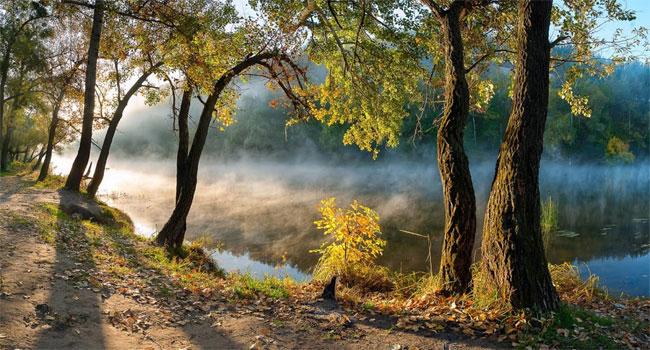 במקום השני: הפארק הלאומי Sviati Hory (הרי הקודש) באוקריאנה. צילום: Balkhovitin