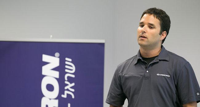 עומר ברוקשטיין, המנהל הטכני של Crestron ישראל