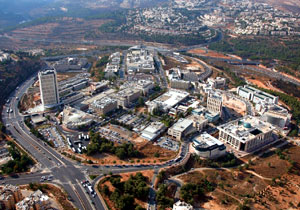 הר חוצבים - מאזורי ההיי-טק הבולטים של ירושלים. צילום: מנהלת ההר