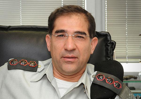 """אל""""מ נתי כהן, קצין קשר ותקשוב ראשי החדש. צילום: פלי הנמר"""