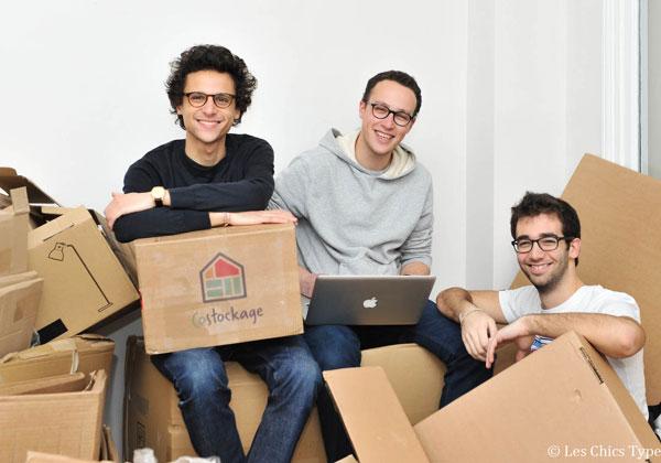 מייסדי Costockage, מיכאל נאדג'ר, בנימין אמסלם ואדם לוי. צילום: Les Chic Types