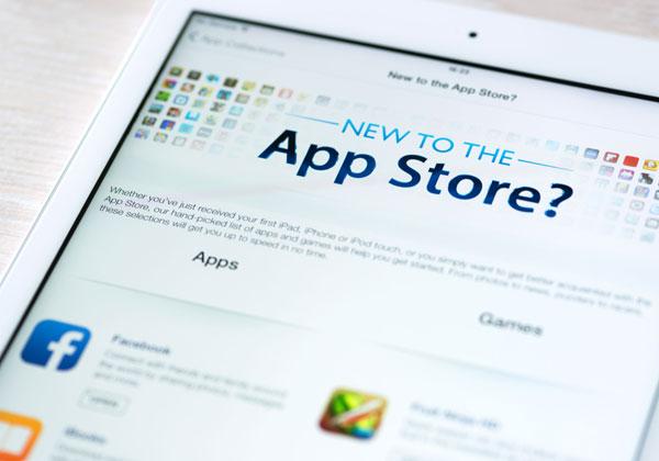 לא קל להיכנס לשם. AppStore, אילוסטרציה: Bigstock