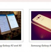 תמונות של דגמי Galaxy A של סמסונג הודלפו