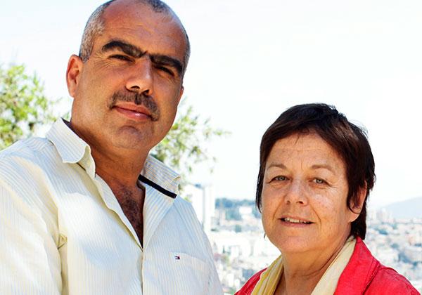 """סמדר נהב וסאמי סעדי, מנכ""""לים משותפים ומייסדי צופן"""