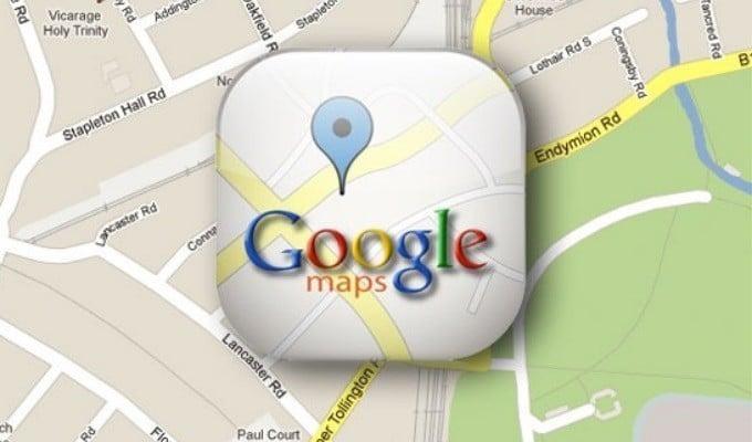 מחשב מסלול מחדש? שירות המפות של גוגל