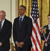 """אובמה העניק לד""""ר אלי הררי את המדליה האמריקנית לטכנולוגיה וחדשנות"""