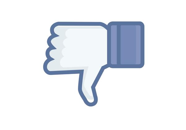 Disslike ענק לפייסבוק. אילוסטרציה: BigStock