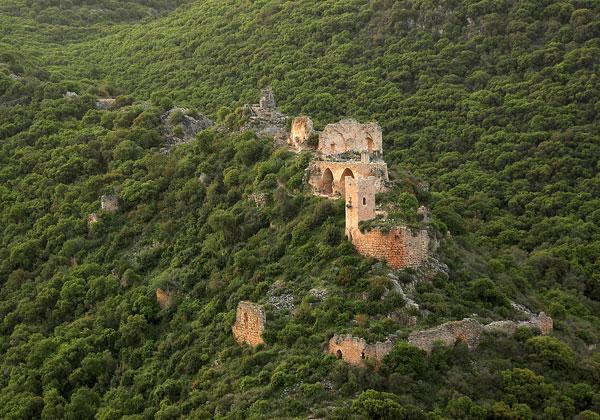 התמונה של מבצר המונפורט, שהגיעה חמישית התחרות. צילום: ערן פלדמן