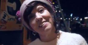 נא להכיר: זהבה גלאון בדמותה החדשה. או שלא. צילום: מתוך הסרטון