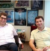 """באו לבקר במאורת הנמר: אבנר שטראוס, מייסד ומנכ""""ל שטראוס אסטרטגיה, ואייל גולדברג, סמנכ""""ל ייעוץ ופרויקטים בחברה"""