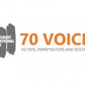 70 שנה אחרי: אפליקציה בשם 70 קולות מספרת על השואה