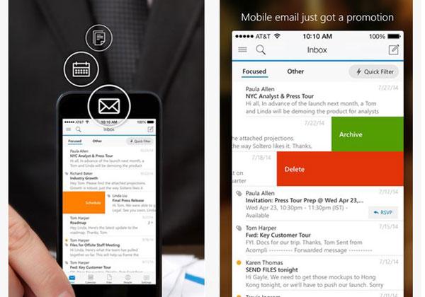 הדואר בא היום. Outlook החדש