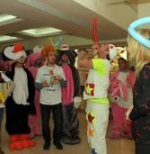 קבוצת אלעד חגגה פורים עם ילדי בית החולים ספרא