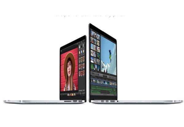 תחושה של חדש. MacBook. צילום: אתר אפל