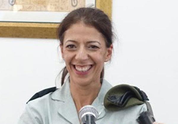 """אל""""מ טליה גזית, מפקדת ממר""""ם. צילום: פלי הנמר"""