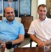 """באו לבקר במאורת הנמר: יואב מלמד, ה-CTO של בולוורקס, ותמיר לביא, מנכ""""ל החברה"""