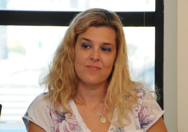 אסנת אביר, אדמיניסטראטורית של מרכז הפיתוח ומרכזת קשרי קהילה בדל ישראל