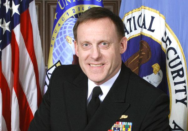 מייקל רוג'רס, ראש ה-NSA וראש פיקוד הסייבר של צבא ארצות הברית. צילום: ויקיפדיה