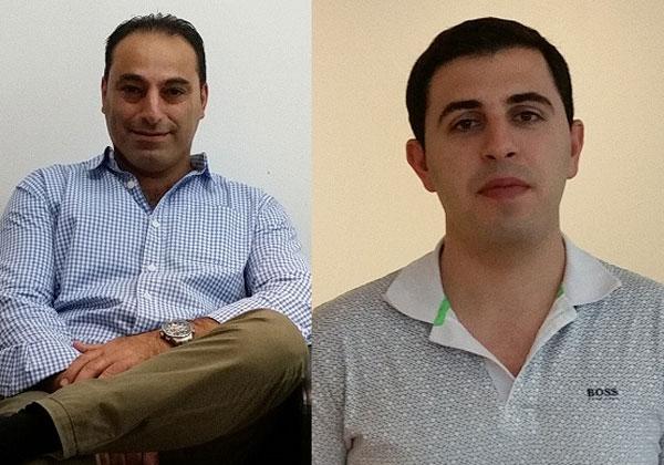 משמאל לימין: אייל מלמד, מנהל מכירות בכיר בסמרטאיקס, ואבי דדי, טכנולוג בכיר לתחום אבטחת המידע והתקשורת בסמרטאיקס