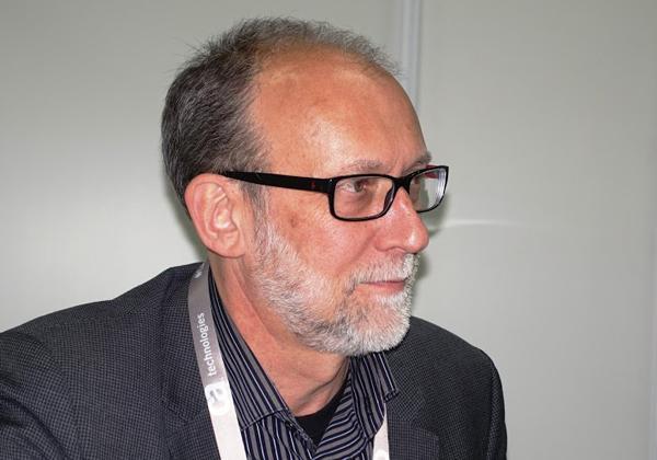 """דיוויד הודג'סון, מנכ""""ל יחידה עסקית BU מיינפריים ב-CA Technologies. צילום: פלי הנמר"""