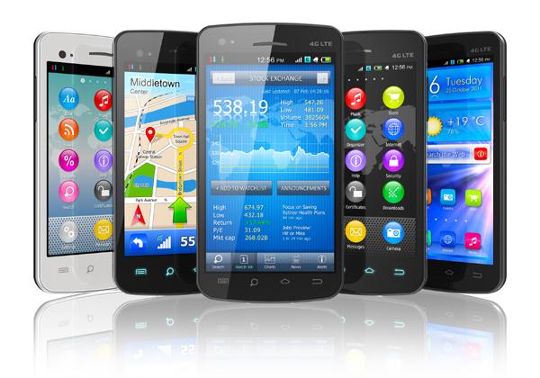 חגיגות במכירות הסמארטפונים. צילום: BigStock