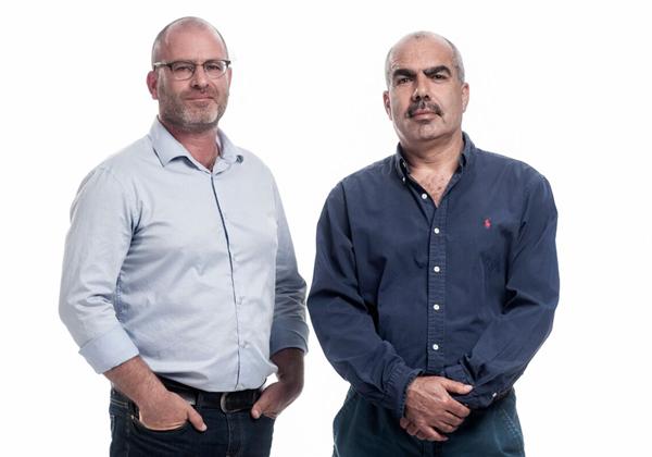 """מימין: סאמי סעדי ופז הירשמן, המנכ""""לים המשותפים של צופן. צילום: יח""""צ"""