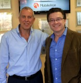 """המנכ""""לים של אקסטנד ו-MobileIron נפגשים"""