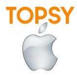 אפל מורידה את השאלטר על Topsy Labs