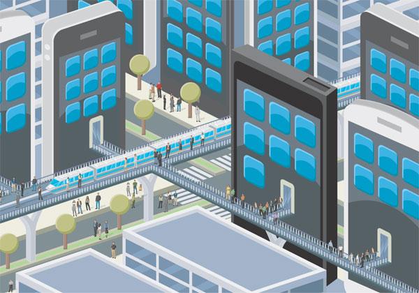 הערים החכמות - לא עניין של ראשי הרשויות בלבד. עיבוד מחשב: BigStock