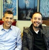 """באו לבקר במאורת הנמר: שחר דניאל, מנכ""""ל Safe-T, ויוסי כרמון, סמנכ""""ל המכירות והפיתוח העסקי בישראל ובאפריקה"""
