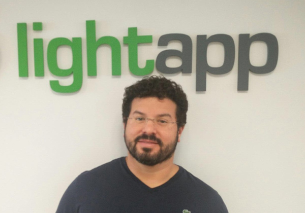 """אלחי פרקש, מנכ""""ל Lightapp. צילום: יח""""צ"""
