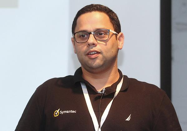 רועי אלבז, מנהל מכירות לארגוני אנטרפרייז, סימנטק ישראל. צילום: ניב קנטור