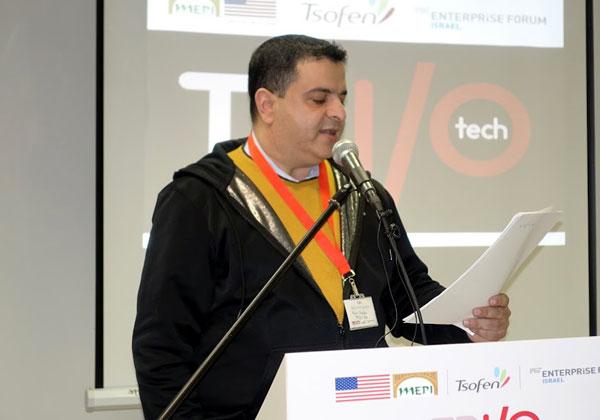 הנס שאקור, יזם, אסטרטג יזמות, מייסד פורום וקהילת ההיי-טק ״מובייל מאנדיי נצרת״ ומנחה הכנס