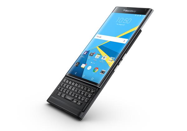 "BlackBerry Priv. צילום: יח""צ"