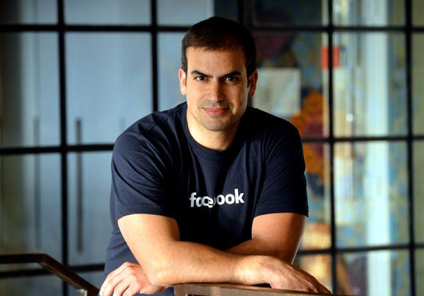 """ג'ואי שמחון, מנכ""""ל מרכז המו""""פ של פייסבוק ישראל. צילום: יוסי זליגר"""