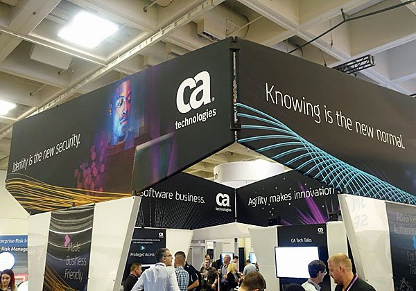 תמונה נוספת מביתן CA בתערוכה: ניהול זהויות הוא בליבה של אבטחת המידע בעידן אבטחת הסייבר. צילום: פלי הנמר